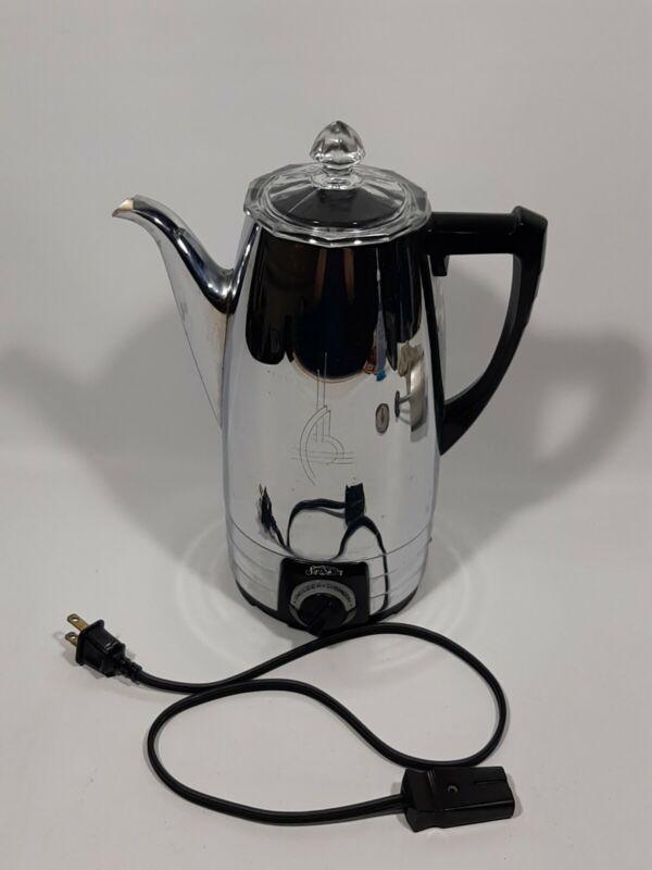 Sunbeam 4-6-8 Cup Automatic Electric Percolator Coffee Maker Pot AP USA