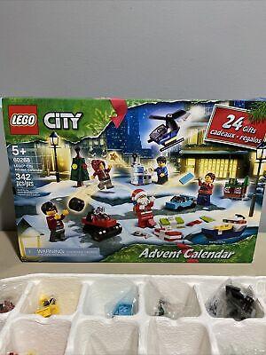 New LEGO City Advent Calendar 60268 Playset, NOB 2020 (342 Pieces) Christmas .