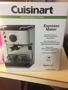 New cuisinart espresso machine