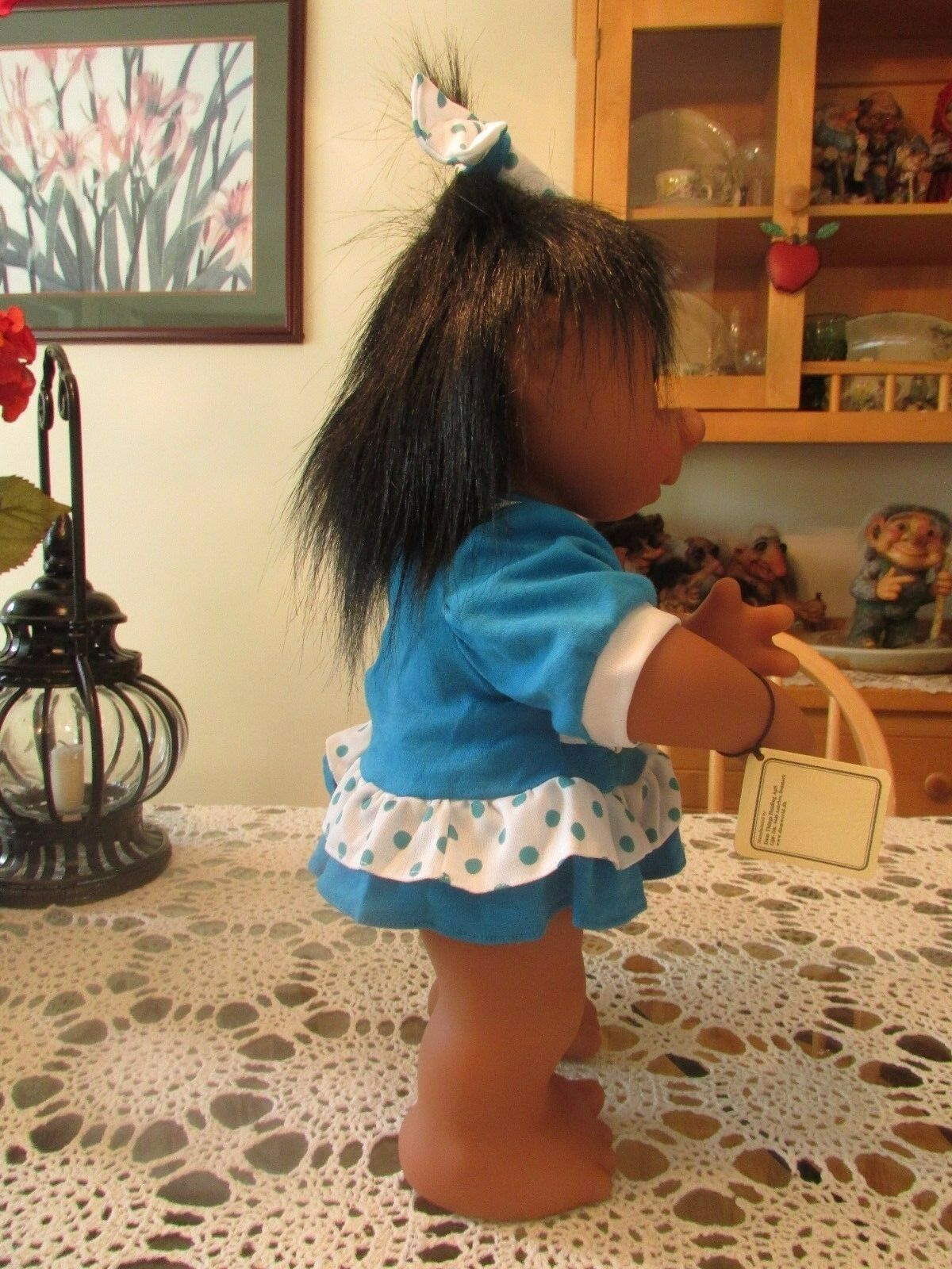 """NEW IN WRAPPER 17/"""" Dam Troll Doll GIANT LIVVY w HANG TAG"""