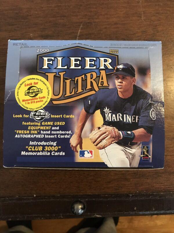 2000 Fleer Ultra Baseball Foil Box - Loaded