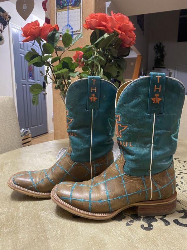 Tin Haul Womans 7.5  Western Cowboy Riding Boots