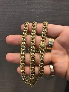 Gold 10k Miami cuban chain