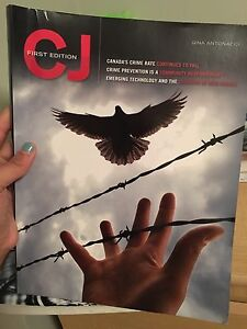 Humber Police Foundations textbook: Criminal Justice