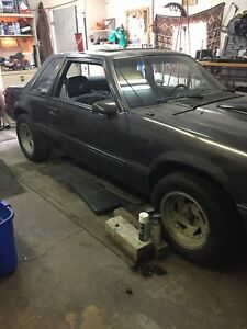1987 mustang almost finnished my loss ur gain