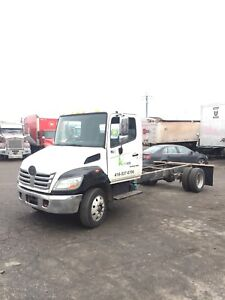 2009 Hino 185 Diesel Auto Cab and Chassis Truck