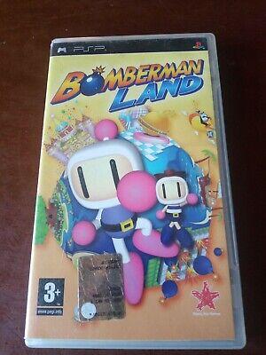 BOMBERMAN LAND Psp PlayStation PAL ita no NES SNES n64 ps1