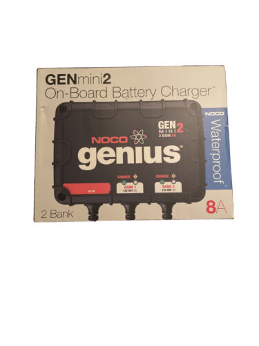 new genm2 8 amp 2 bank smart