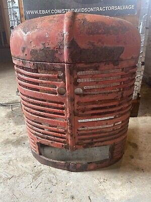 Early Farmall H Grill 1939 H Antique Tractor