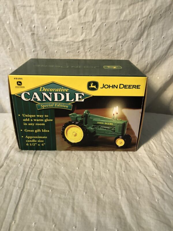 John Deere Special Edition Decorative Candle NIB