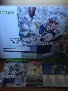 Xbox One S 1TB Madden NFL 17 Bundle