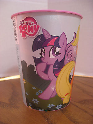 My Little Pony 16 oz. Plastic Cup - Rainbow Dash, Pinky Pie and others - AG 2014 - My Little Pony Cup