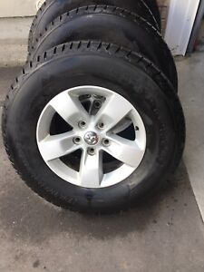 """17"""" Dodge Ram Rims and Tires TPMS"""