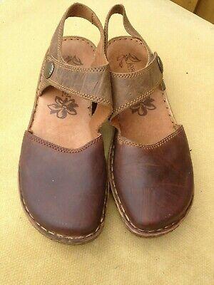 JOSEF SEIBEL UK 6 Brown Rosalie 27 Flat Closed Toe Sandals