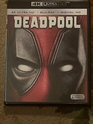 Deadpool (4K Ultra HD/Blu-ray, 2016, 2-Disc Set) No Digital Copy