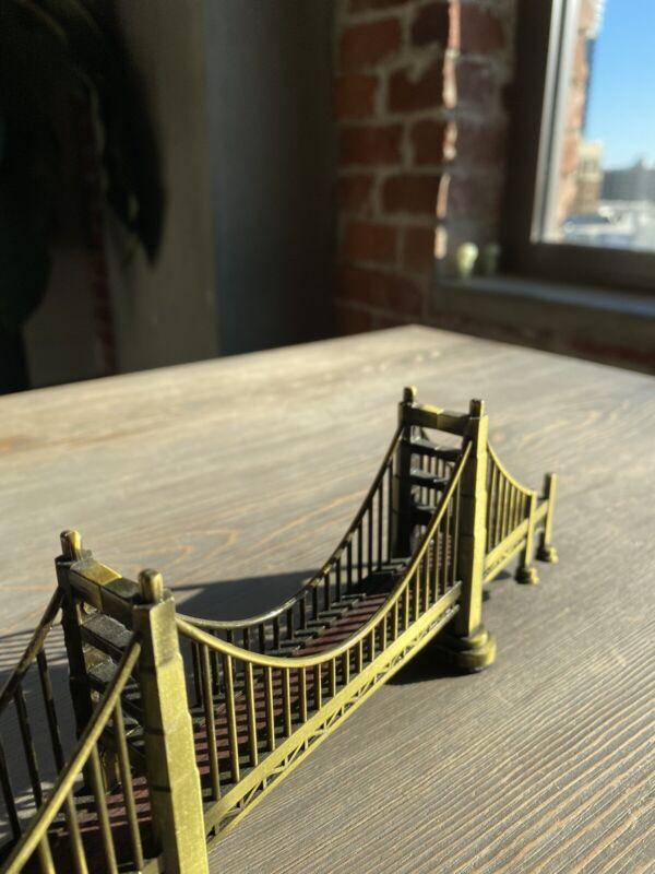 Golden Gate Bridge Souvenir 7.5 Inches X 3.5 Inches Metal