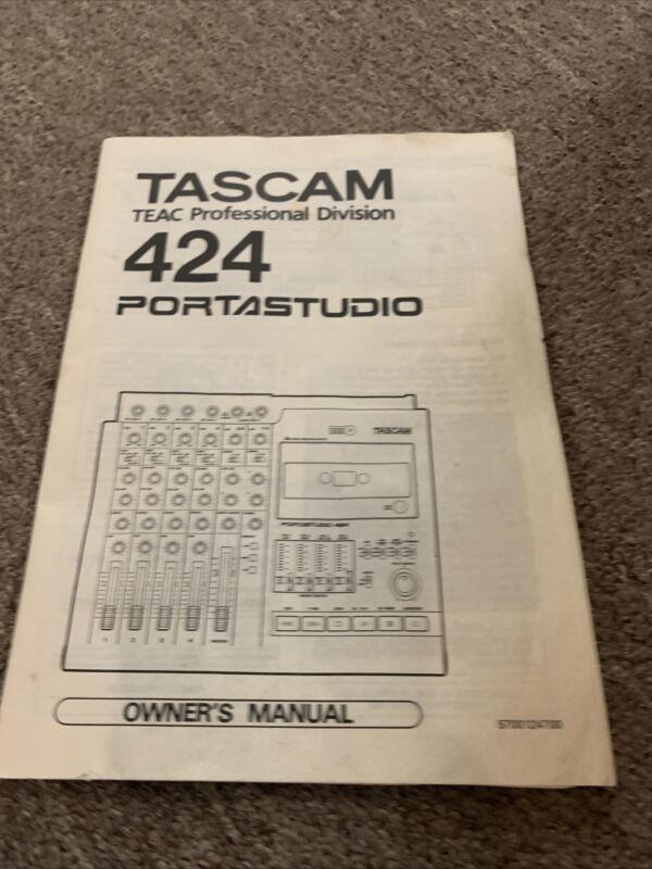 Original Tascam 424 Portastudio OWNER