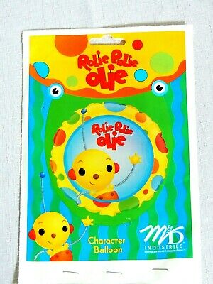 Party Balloon Packages (NEW  IN PACKAGE ~ 1- ROLIE POLIE OLIE ~ BALLOON -   -PARTY)