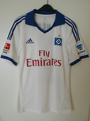 HSV JANSEN HOME MATCHWORN / MATCHPREPARED SHIRT 2013/14