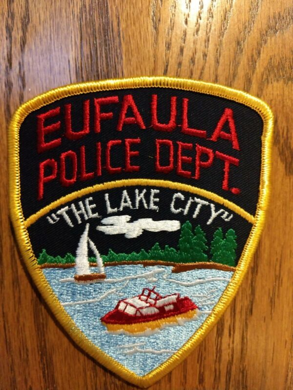 "EUFAULA ALABAMA ""The Lake City"" POLICE PATCH - NEW"