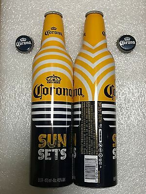 "2016 China Version Corona ""Sun Sets"" 473ml Empty Aluminum Bottle"