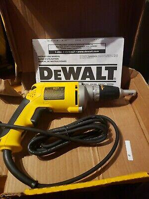 DeWalt DW272 6.3 Amp Variable Speed Reversible Corded Drywall Screwdriver  Dewalt Drywall Screwdriver
