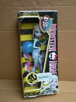 Monster High Skultimate Roller Maze Abbey Bominable Doll 2012 Mattel BNIB