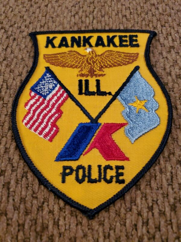 Kankakee Ill Police Patch