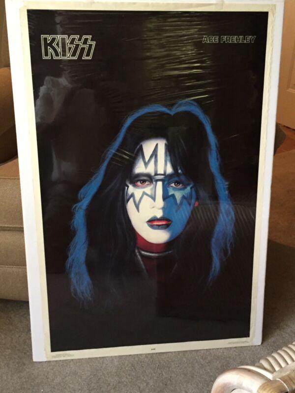 KISS Ace Frehley  SOLO Album 1978 Aucoin Poster *RARE*