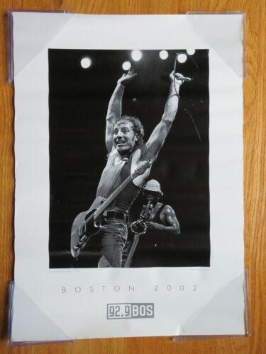 Boston 2002 BRUCE SPRINGSTEEN 1984 Worcester Centrum Concert Poster Ron Pownall