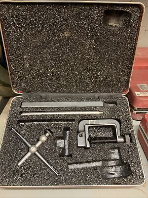 Vintage Starrett Universal Dial Test Indicator 196 Case 196a1z Machinists 4pcs