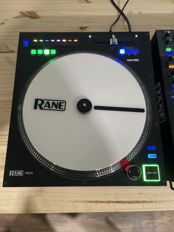 Rane Twelve DJ Turntable Control System - Black