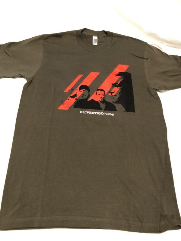 U2 Vertigo 2006 Tour Concert T-Shirt Mens Medium New