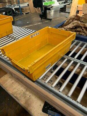 Shelf Bins - Plastic Containerstorage 11 X 18 X 6 - Set Of 8