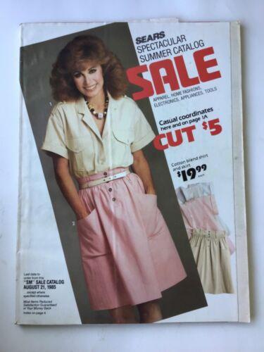 Vintage 1985 Sears Summer Catalog