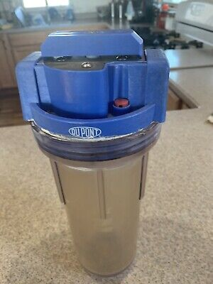 NUVO H2O HOME WATER SOFTENER SYSTEM, USED