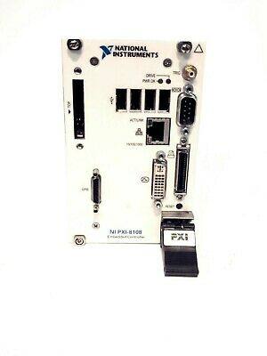 Usa National Instruments Ni Pxi-8108 Pxie 2.53 Ghz Dual-core Processor