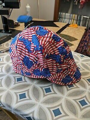 Wendys Welding Hat Made With Usa Fabric New