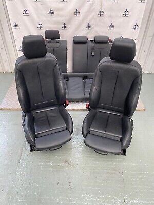 BMW 1 SERIES F20 M SPORT BLACK LEATHER SEATS