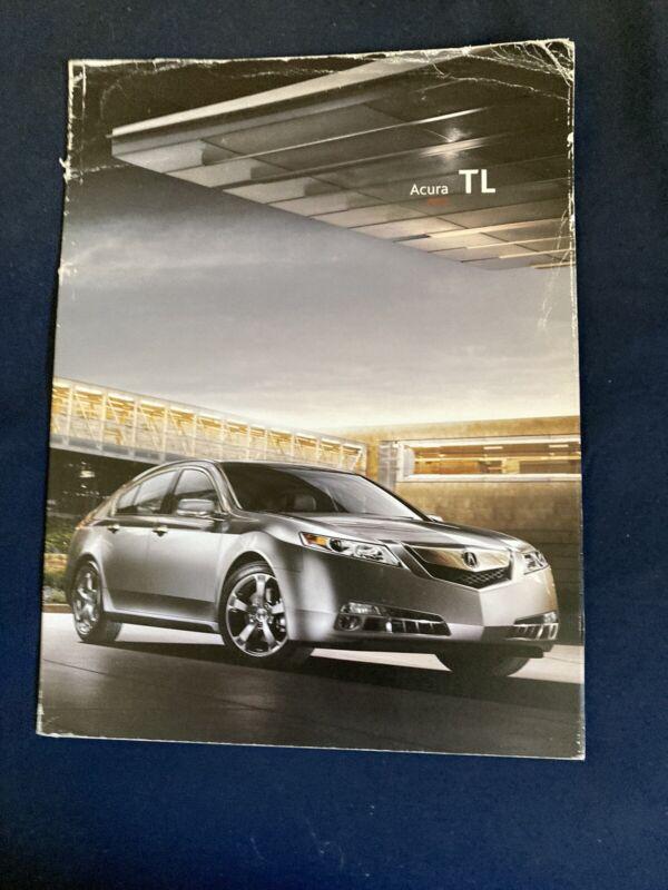 2009 Acura TL Sedan USA Market Color Brochure Catalog Prospekt