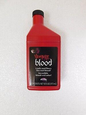 Vampier Blut Kunstblut für Halloween Make Up und Kostüm Effekte Dracula - 473ml