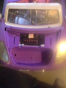 Powered ride on toy with atv battery