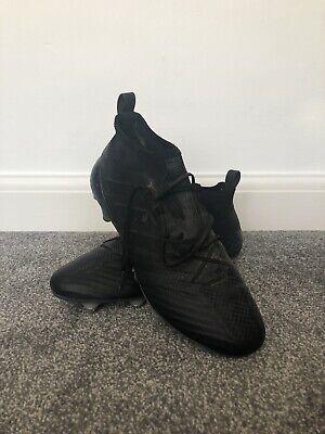 Adidas ace 17.1 blackout size 10 soft ground