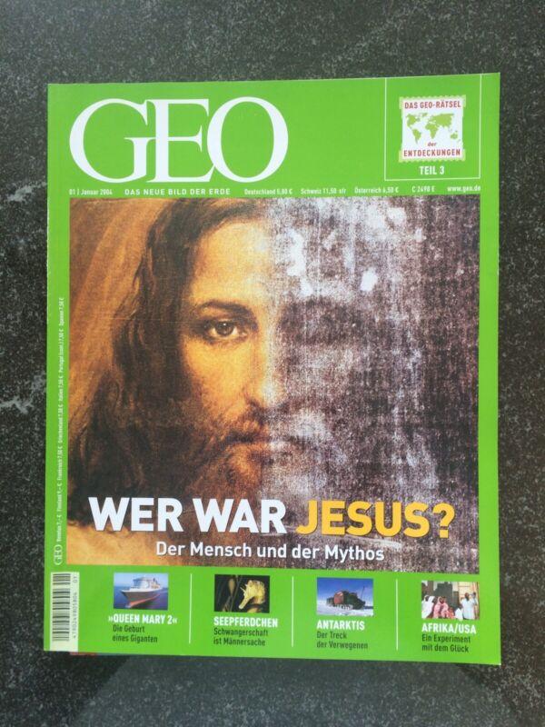 """GEO Das neue Bild der Erde """"Wer war Jesus?"""" Januar 2004"""