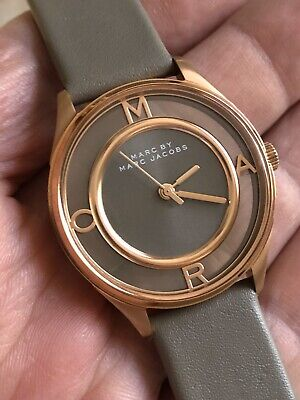 Marc Jacobs Watch Womans Rose Gold MBM-1375 Excellent Condition New Energizer