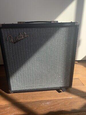 Fender Rumble 15 V3 Bass 120W Guitar Amplifier - Black/Silver