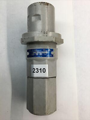 Cooper Crouse-hinds Npj6485 Arktite Non-metallic Plug 600v 3 Wire 4 Pole 60 Amp