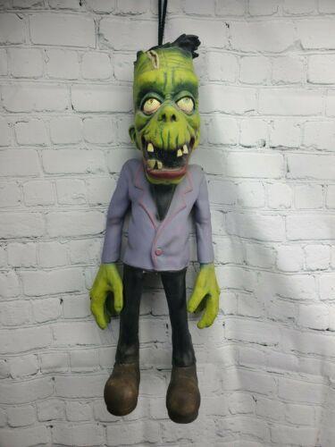 "VTG Paper Magic Group 22"" Frankenstein Latex Rubber Decor Prop Hanging Halloween"