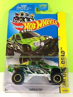 2014 super treasure hunt sandblaster 2014 hot wheels super treasure hunt sandblaster - Rare Hot Wheels Cars 2013