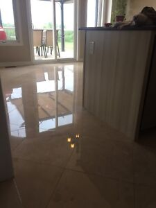 Deep Cleaning,Polishing of Marble,Travertine & All Natural Stone